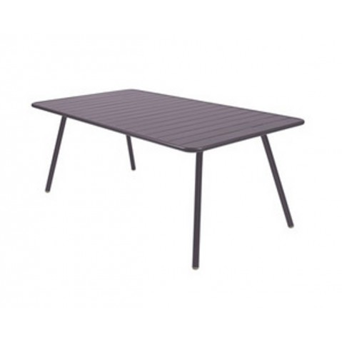 Table LUXEMBOURG pour 8 personnes de Fermob Prune