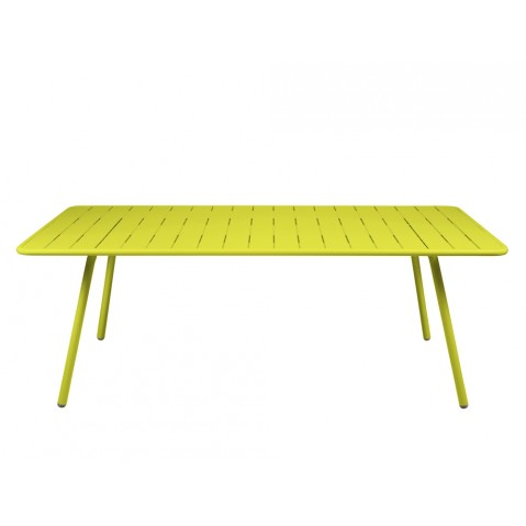 Table LUXEMBOURG pour 8 personnes de Fermob verveine