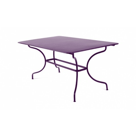 Table MANOSQUE de Fermob aubergine