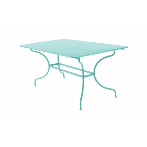 Table MANOSQUE de Fermob, Bleu lagune
