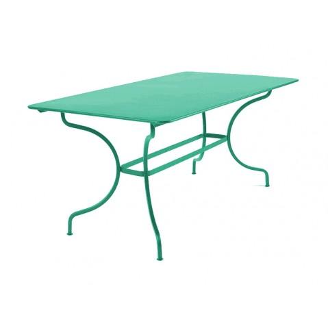 Table MANOSQUE de Fermob bleu turquoise