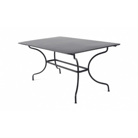 Table MANOSQUE de Fermob, Carbone