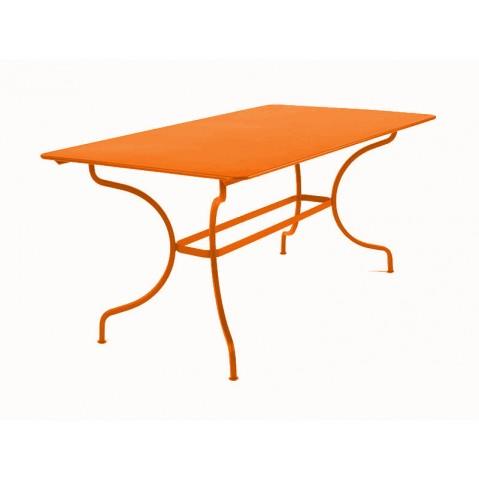 Table MANOSQUE de Fermob carotte