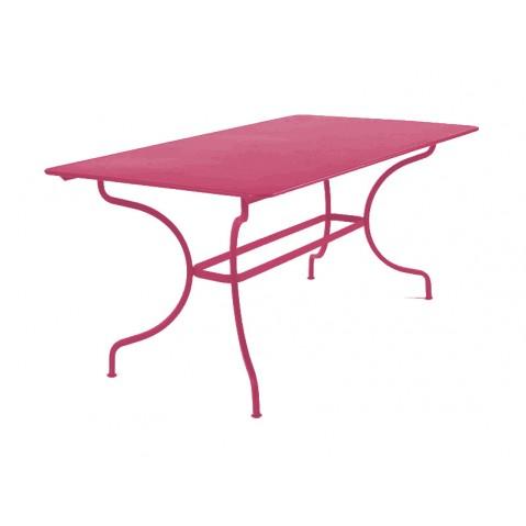 Table MANOSQUE de Fermob fuchsia