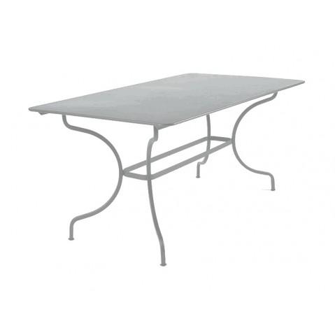 Table MANOSQUE de Fermob gris métal