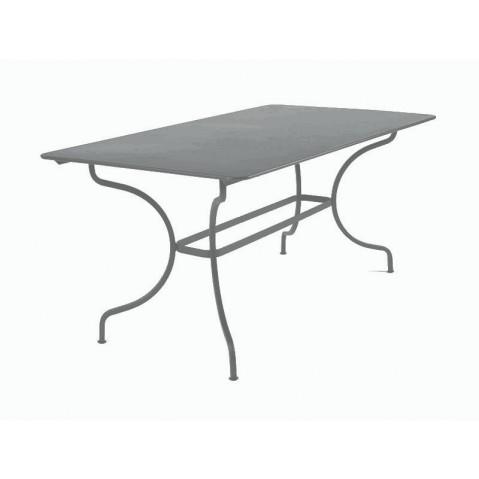 Table MANOSQUE de Fermob gris orage
