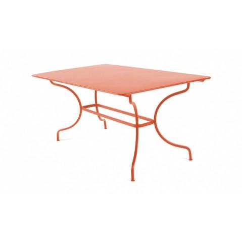 Table MANOSQUE de Fermob paprika