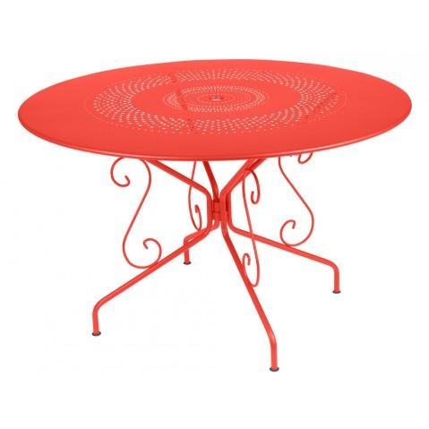 Table MONTMARTRE de Fermob D.117 Capucine