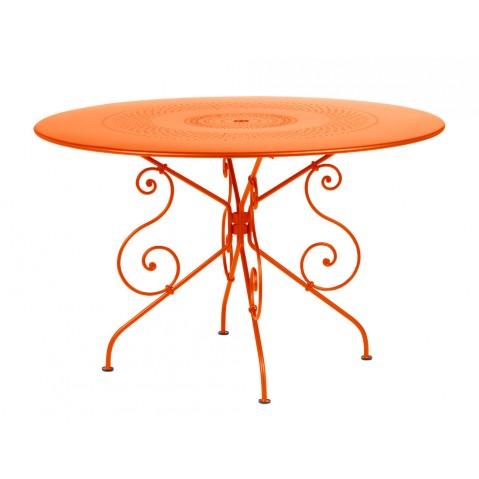 Table MONTMARTRE de Fermob D.117, Carotte