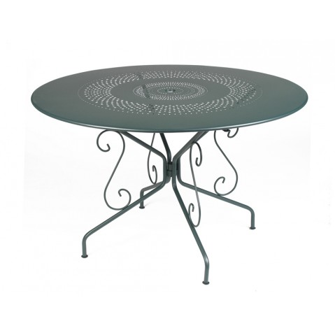Table MONTMARTRE de Fermob D.117, Cèdre