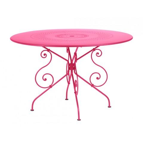 Table MONTMARTRE de Fermob D.117 fuchsia