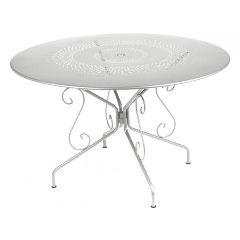 Table MONTMARTRE de Fermob D.117, Gris Métal