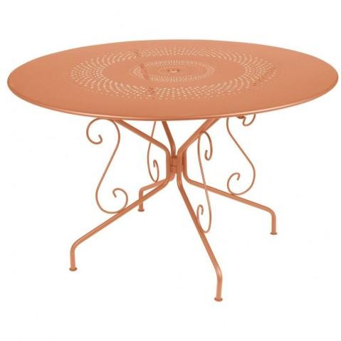 Table MONTMARTRE de Fermob D.117 paprika
