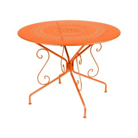 Table MONTMARTRE de Fermob D.96, Carotte