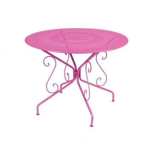 Table MONTMARTRE de Fermob D.96 fuchsia