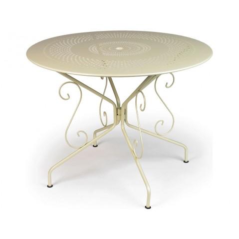 Table MONTMARTRE de Fermob D.96 muscade