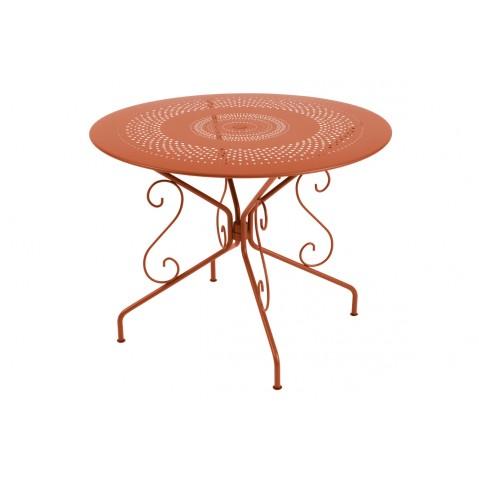 Table MONTMARTRE de Fermob D.96 paprika
