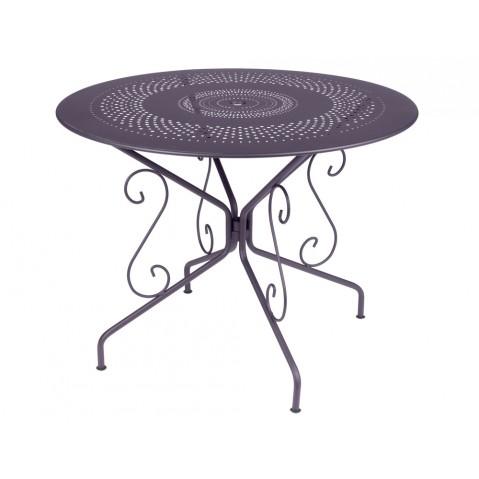 Table MONTMARTRE de Fermob D.96 Prune