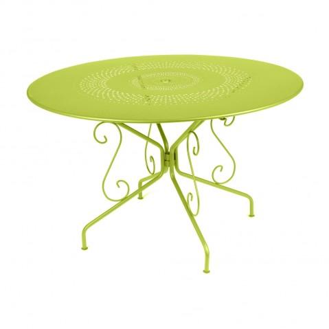Table MONTMARTRE de Fermob D.96, Verveine