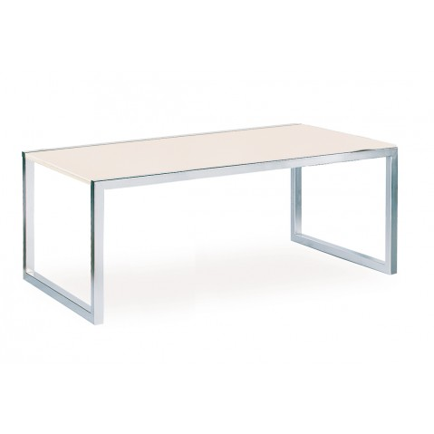 Table NINIX 200 de Royal Botania verre blanc