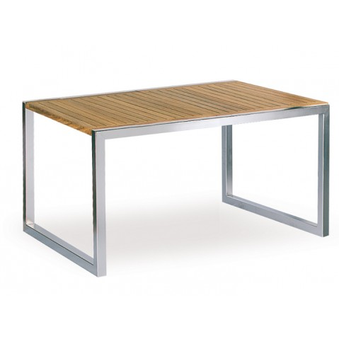 Table NINIX teck de Royal Botania, 150x90