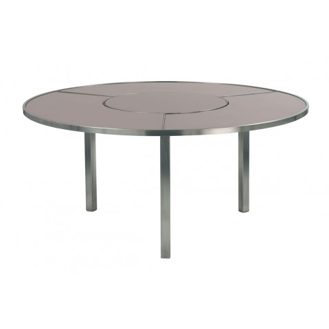 Table O-ZON 160 en verre de Royal Botania, 3 coloris