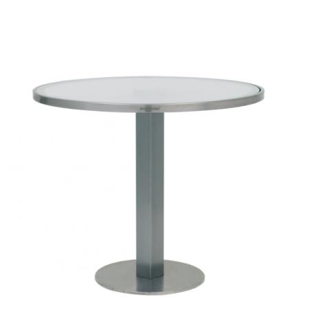 Table O-ZON 90 verre EP de Royal Botania, 3 coloris