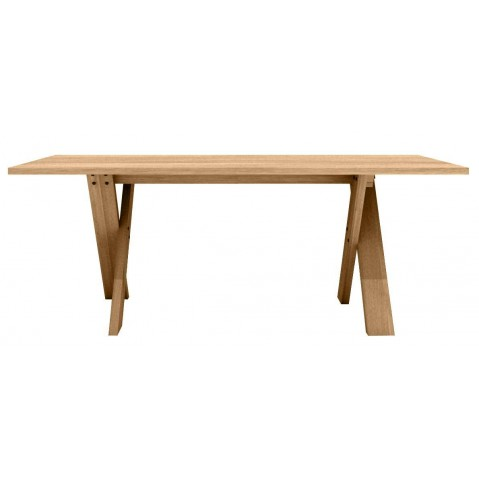 Table PETTERSSON en chêne d'Ethnicraft-L200 x 90