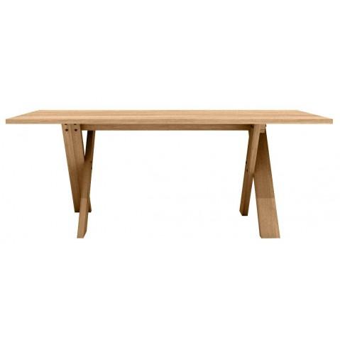 Table PETTERSSON en chêne d'Ethnicraft-L220 x 100