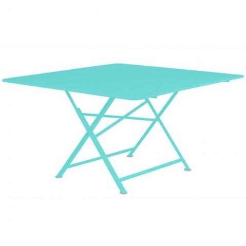 Table pliante CARGO de Fermob Bleu lagune