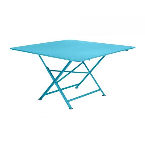Table pliante CARGO de Fermob bleu turquoise