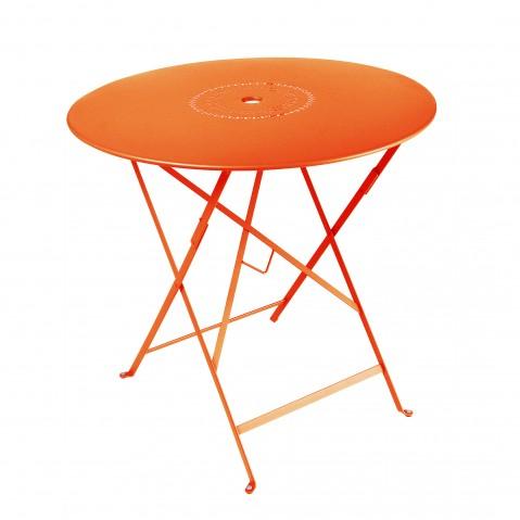 Table pliante FLORÉAL de Fermob D.77 carotte