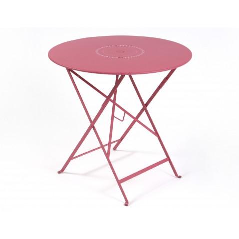 Table pliante FLORÉAL de Fermob D.77 fuchsia