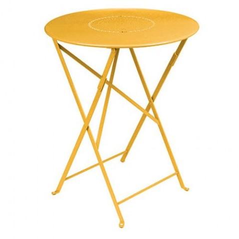 Table pliante FLORÉAL de Fermob D. 77 Miel