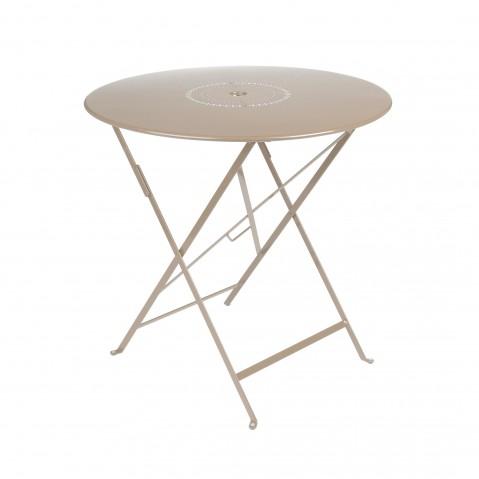 Table pliante FLORÉAL de Fermob D.77 muscade