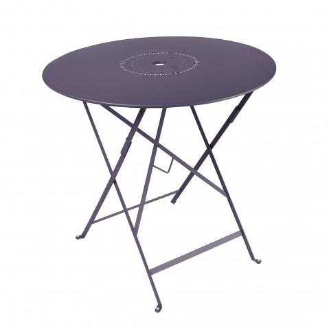Table pliante FLORÉAL de Fermob D. 77 Prune