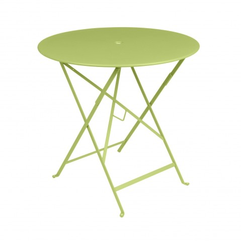 Table pliante FLORÉAL de Fermob D.77 verveine