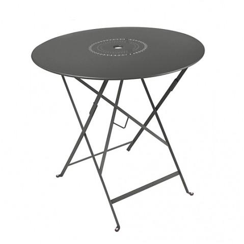 Table pliante FLORÉAL de Fermob D. 96 Carbone