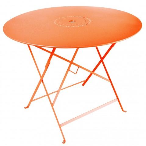 Table pliante FLORÉAL de Fermob D.96 carotte
