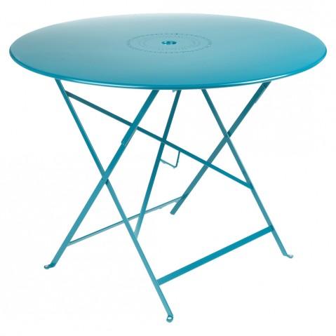 Table pliante FLORÉAL de Fermob D. 96, Fjord