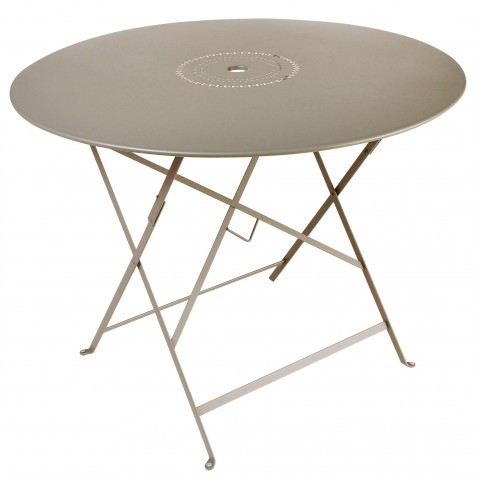 Table pliante FLORÉAL de Fermob D.96 muscade