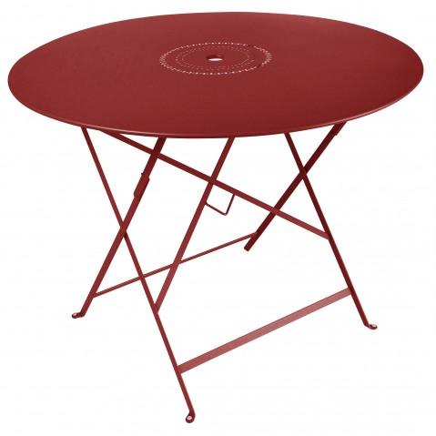 Table pliante FLORÉAL de Fermob D.96 piment