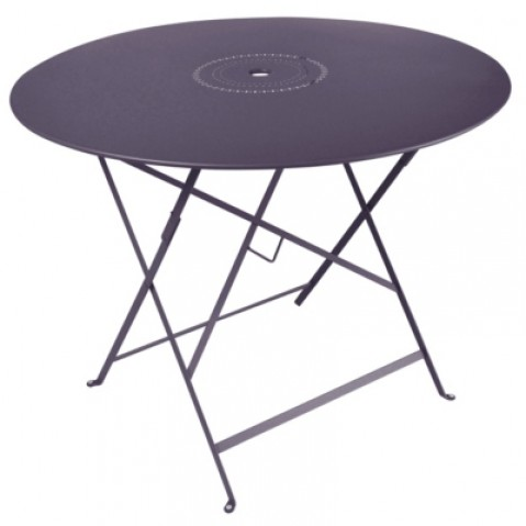 Table pliante FLORÉAL de Fermob D. 96 Prune