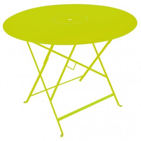 Table pliante FLORÉAL de Fermob D.96 verveine