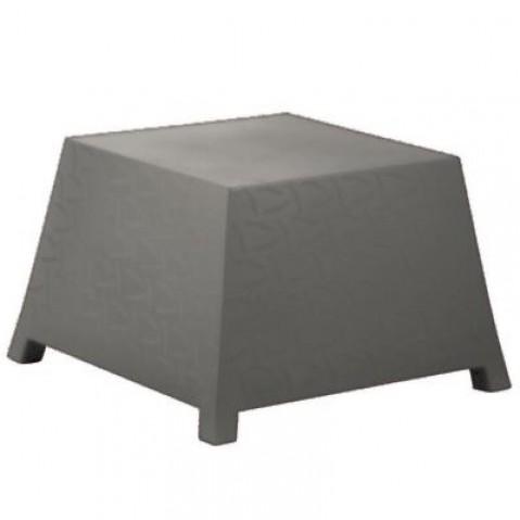 Table/Pouf RAFFY-M10 Qui est Paul Gris Coussin Gris