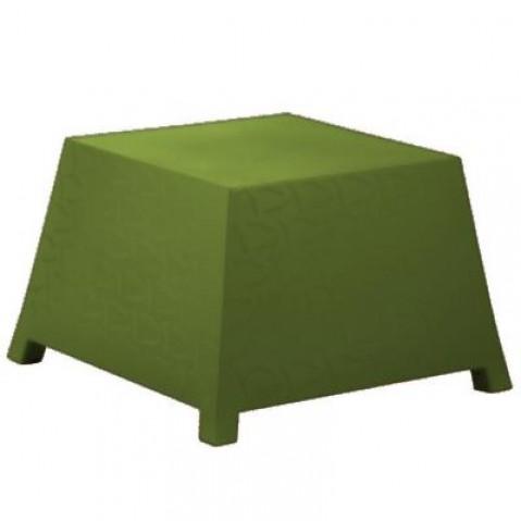 Table/Pouf RAFFY-M10 Qui est Paul Kaki Coussin Gris