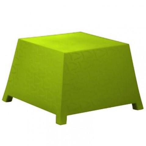 Table/Pouf RAFFY-M10 Qui est Paul Vert Coussin Gris