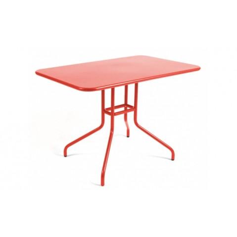 Table rabattable PÉTALE de Fermob 110 cm, Capucine