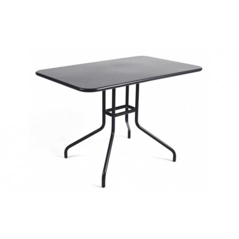 Table rabattable PÉTALE de Fermob 110 cm, Carbone