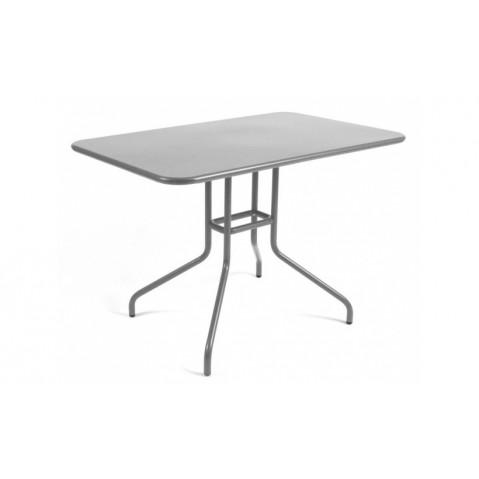 Table rabattable PÉTALE de Fermob 110 cm gris métal